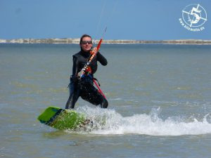 Kitesurfen lernen für Aufsteiger