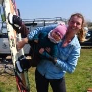 Kitesurf-Nachwuchs
