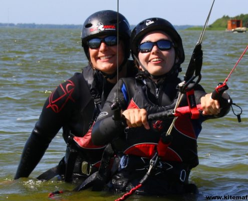 Kiten lernen mit Spaß
