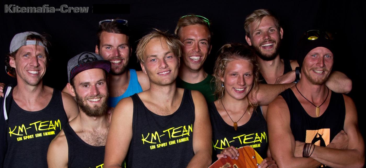 Kiteschule Kitemafia Kiten lernen Team