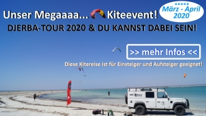 Kitereisen und Kiteschule Djerba
